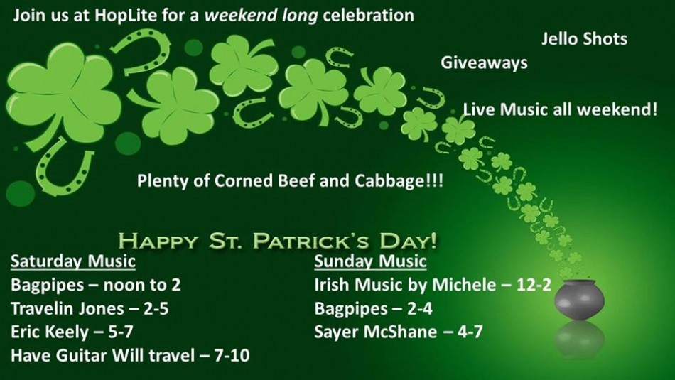Our Biggest St Patrick's Party Weekend