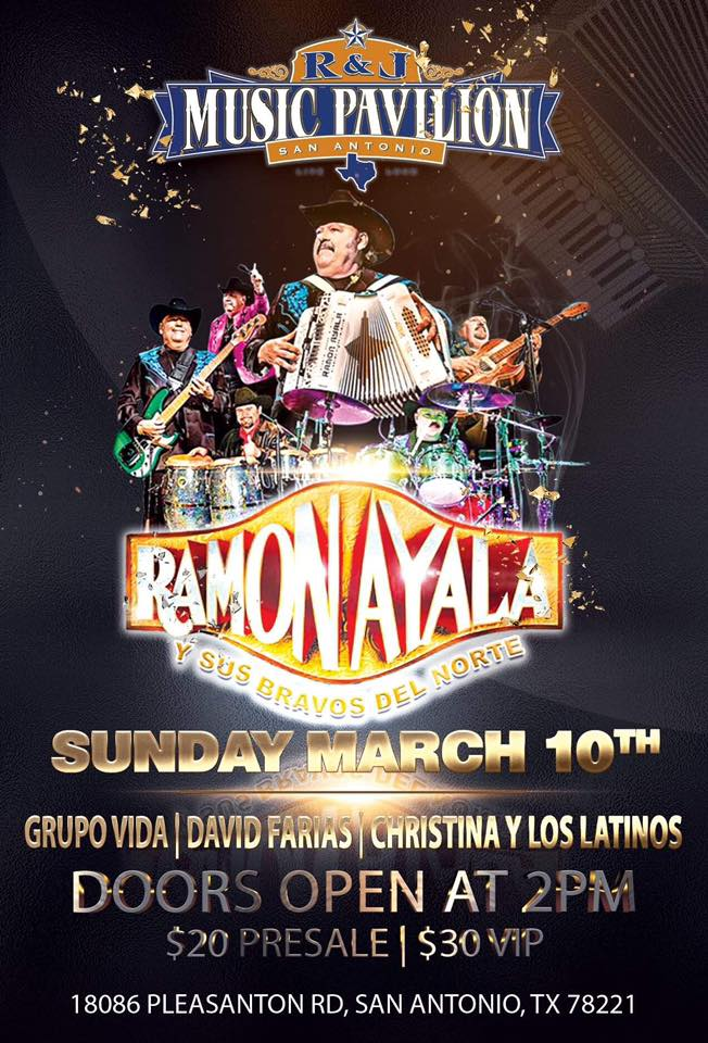 Ramon Ayala at R&J Music Pavilion