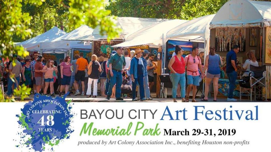Bayou City Art Festival Memorial Park 2019