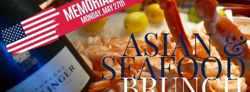 Memorial Day Brunch on Las Olas - Endless Seafood, Champagne & Asian Fare