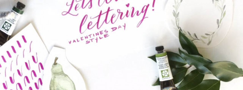 Coffee & Crafts: Brush Lettering with Hatch Cove Designs!