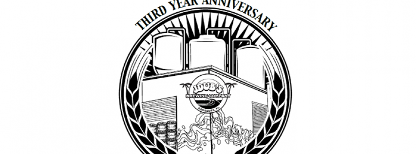 JDub's Brewing 3 Year Anniversary Party Beer Festival