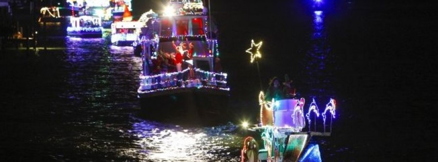 Treasure Island's Lighted Boat Parade