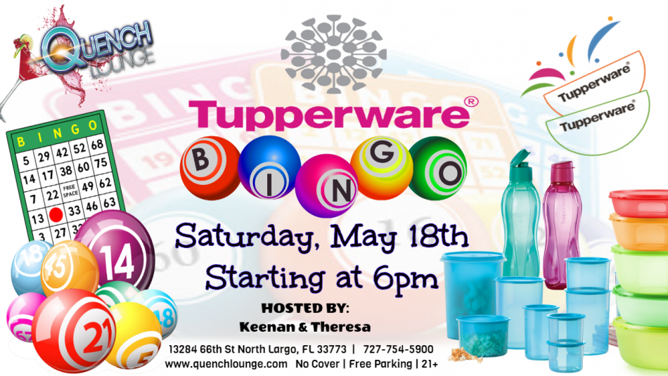 Tupperware Party and Bingo