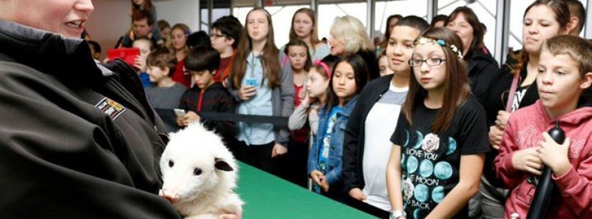 Dallas Zoo visits Reunion Tower for Spring Break