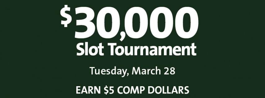 $30,000 Slot Tournament - Day 2
