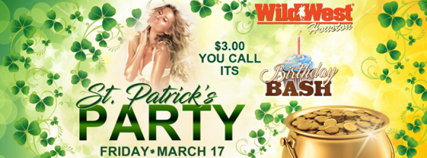 St. Patrick's Day Party | Wild West