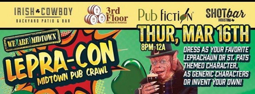 Lepra-CON Midtown Pub Crawl