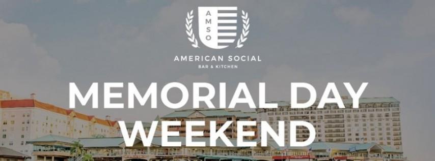Memorial Day Weekend at AmSo