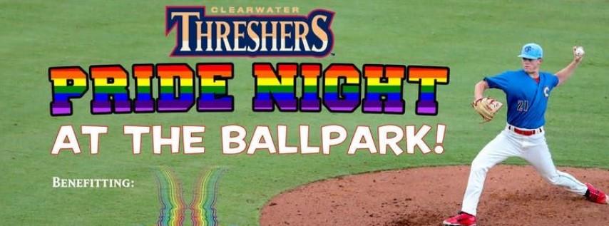Clearwater Threshers Pride Night