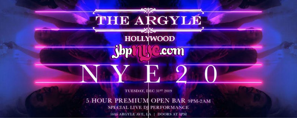 NYE | Argyle 2020 New Years Open Bar Tickets