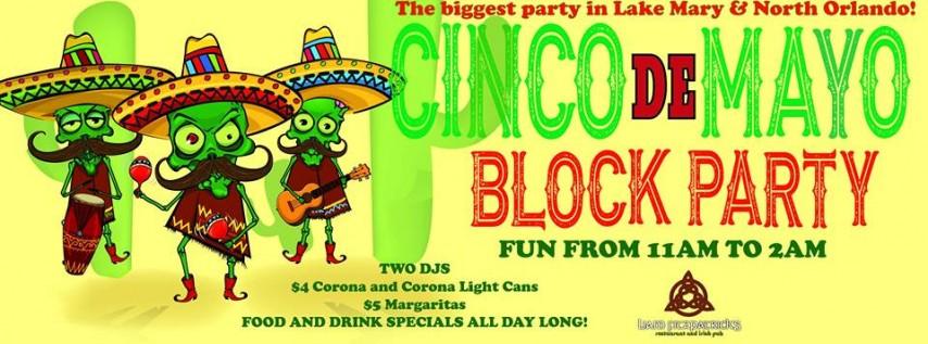 Cinco De Mayo Block Party At Liam Fitzpatricks