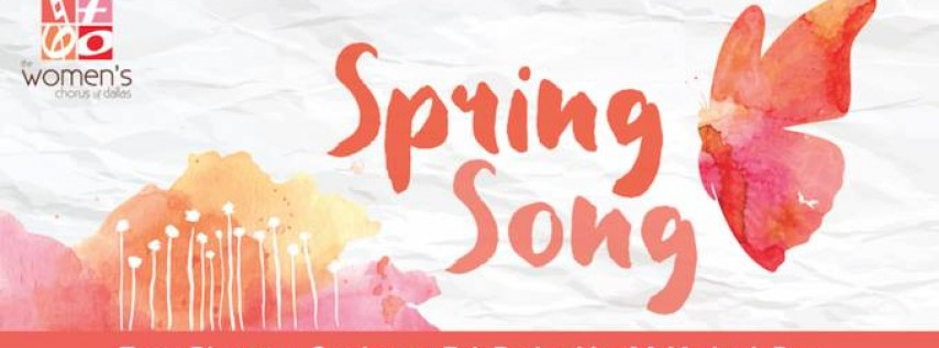 Mother's Day Concert: Spring Song