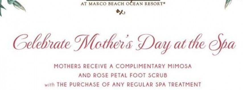 Mother's Day Weekend Spa Special