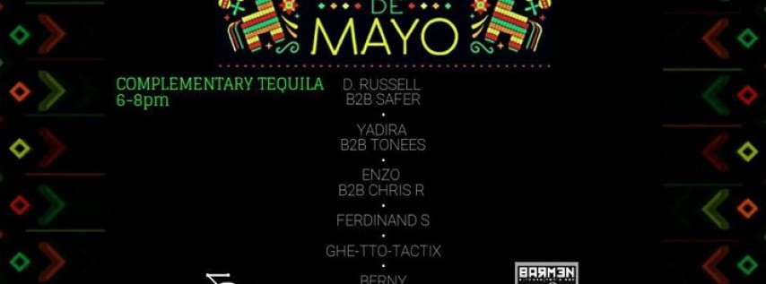 Cinco De Mayo (House Patio Party)