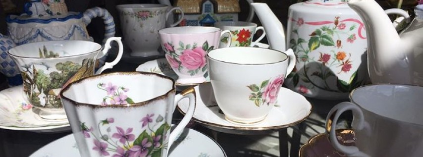Multi-generational Mother's Day Tea Party