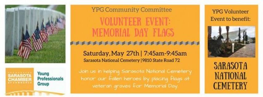 YPG Volunteer Event: Memorial Day Flags