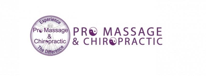 Pro Massage & Chiropractic