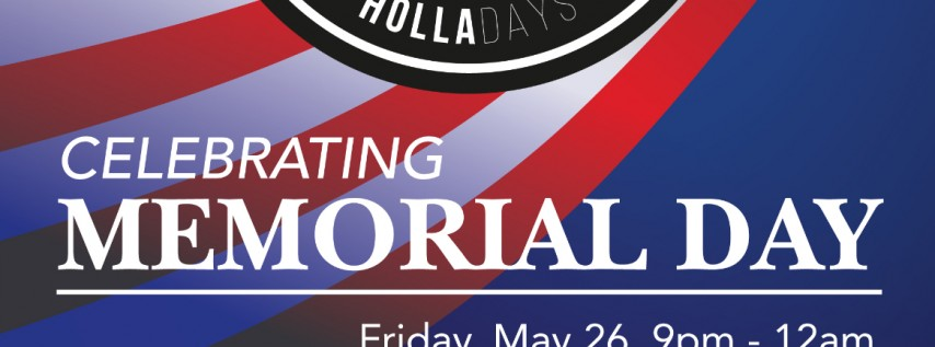 Holla-Days at Air Park Karaoke Lounge – Memorial Day