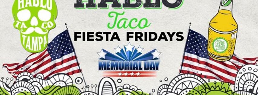 Fiesta Friday - Free Chips & Salsa + Beer - 5.26.17