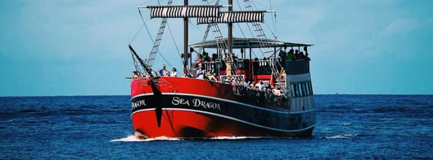 Cruise on Pirate Cruise Sea Dragon on Labor Day Weekend!