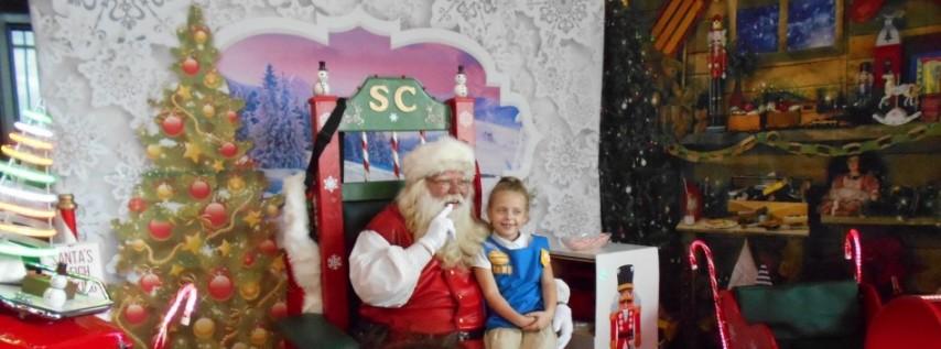 Santa Claus appears at Pine Castle Moose Lodge