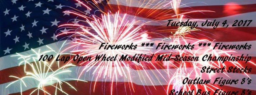 4th of July - 6th Annual Celebration at Showtime Speedway