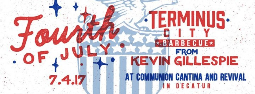 July 4th BBQ Party with Kevin Gillespie's Terminus City BBQ
