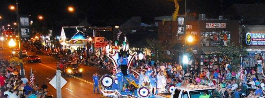 42nd Annual Gatlinburg 4th of July Midnight Parade