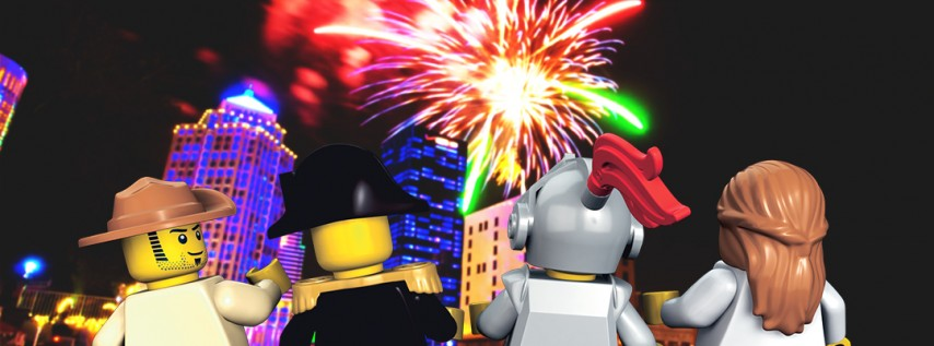 LEGOLAND Knight Lights 4th Of July Event