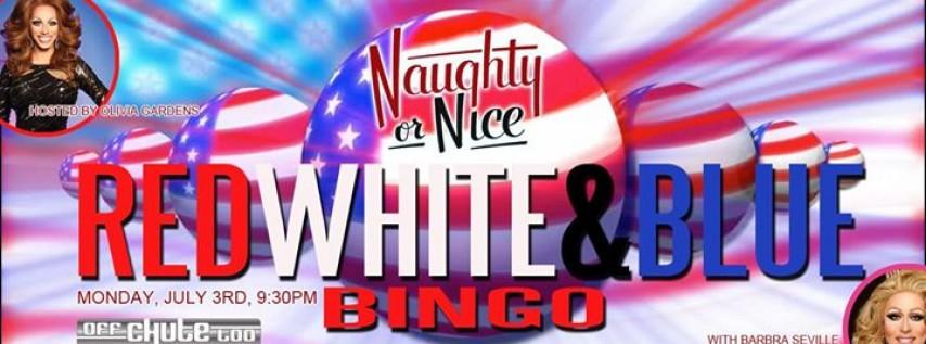 Red, White and Blue Bingo