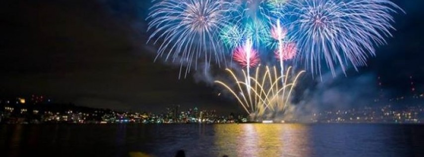Fireworks on the Appomattox