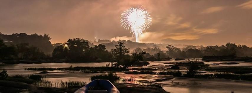 RVA Fireworks on the James