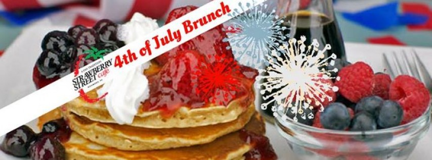 4th of July Brunch at Strawberry Street Cafe