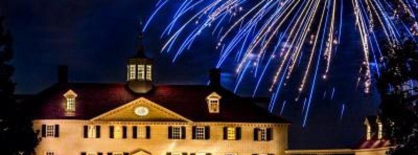 Fireworks at Mount Vernon! Shuttle