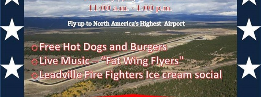 4th of July Leadville Airport Cookout