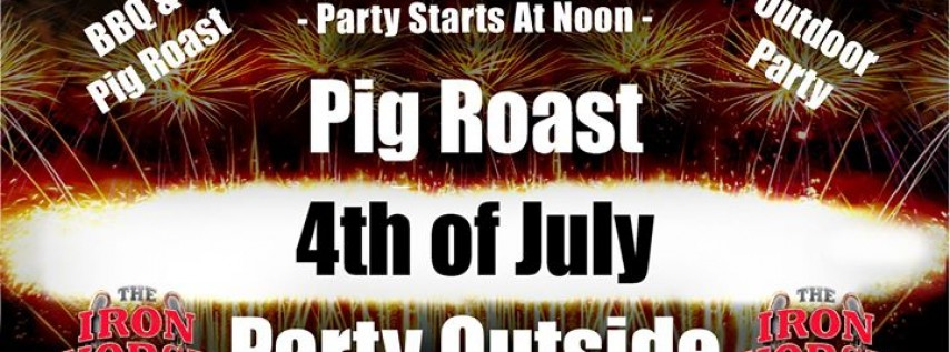 4th of July Pig Roast Block Party