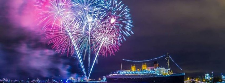 Fuego's July 4th BBQ Buffet, Queen Mary Fireworks And Live Music