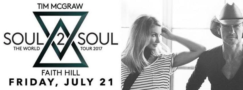 Tim McGraw and Faith Hill Soul 2 Soul Tour