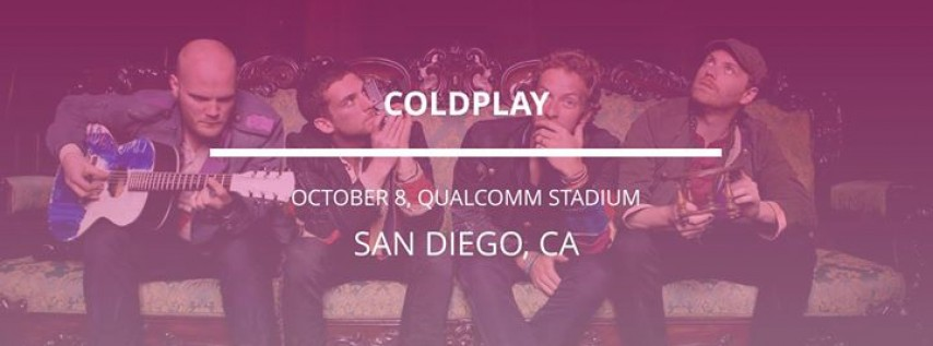 Coldplay in San Diego