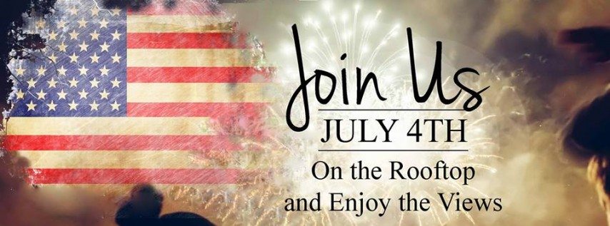 4th of July On The Rooftop | M Lounge
