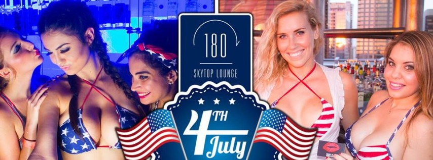 Independence Day Pre-Party | One80 Skytop Lounge