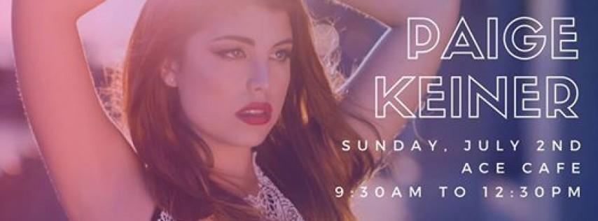 Paige Keiner Show | Ace Cafe Orlando