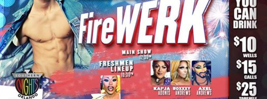 #Rush Thursdays FireWerk | Southern Nights Orlando