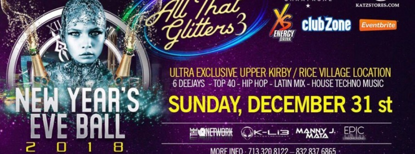 All That Glitters 3 NYE Houston