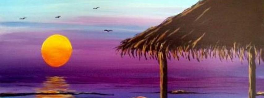 Wine & Canvas: Wind 'n Sea La Jolla - Happy Hour til 7pm & New Menu!