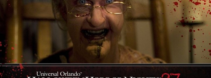 Halloween Horror Nights on Halloween Night