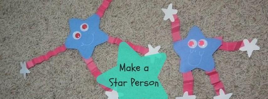 Craft: Labor Day Star Person