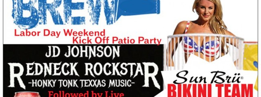 Red, White, & Brew - Labor Day Weekend Kick Off Party