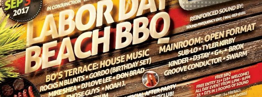 Bo's Terrace Sessions (Labor Day Edition) Sunday, 09.03.17